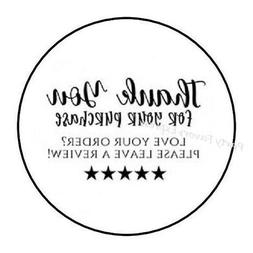 48 THANK YOU FOR YOUR PURCHASE REVIEW ENVELOPE SEALS LABELS