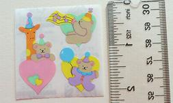 Sandylion BABY BEAR PARTY TIME - 1 Square of BABY BEAR Stick