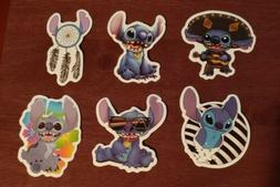 Disney Stickers - Lot of 6 - Lilo and Stitch Characters