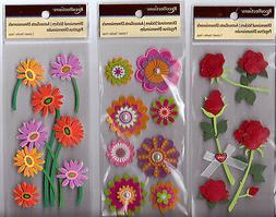 Recollections FLOWER Stickers~Several Varieties~Gorgeous!! Q