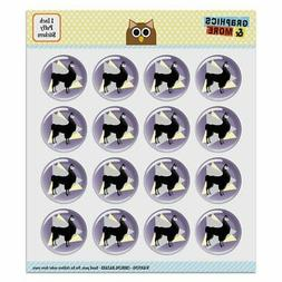 Gothic Llama Puffy Bubble Dome Scrapbooking Crafting Sticker