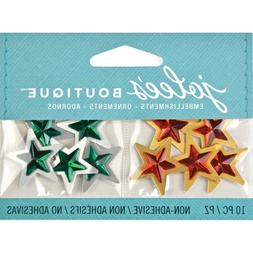 Jolee's Boutique Star Embellishments for Holiday Cards, Pape