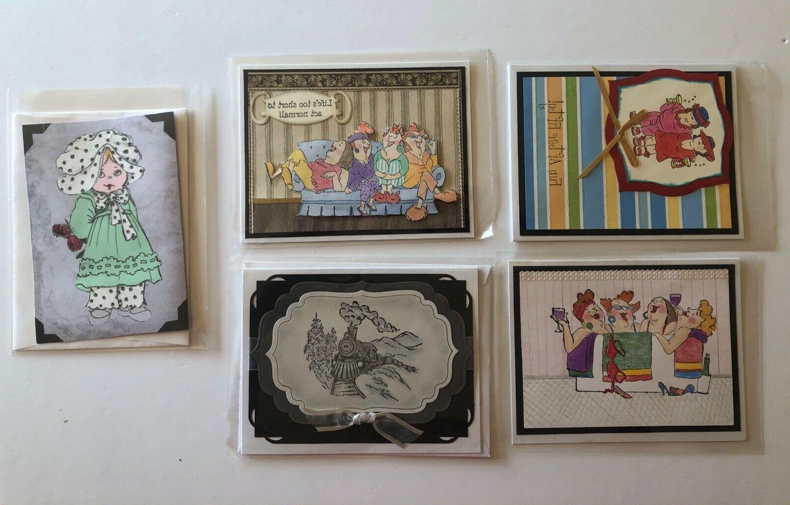 professional handcrafted greeting cards embellishments lot o