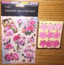 Lot Of 2 Special Moments Handmade & Recollections Floral Sig