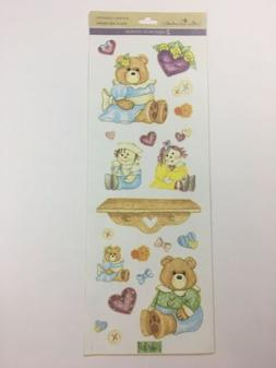 Miss Elizabeth's 2 Sided Stickers Dolls And Bears Scrapboo
