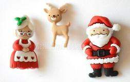 Mr. & Mrs. Claus / Jesse James Dress It Up Holiday Collectio