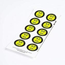 Mr. Yuk Stickers, Poison Prevention Stickers, Great for Pare