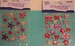 NEW GEMS  *Your Choice* BUTTERFLIES &  FLOWERS or FLOWERS  D