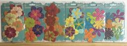 Prima Mulberry Flowers Scribbles LOT of 6 Retired SCRAPBOOK