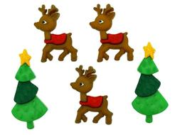 Reindeer Games by Dress It Up a Jesse James Button Holiday C