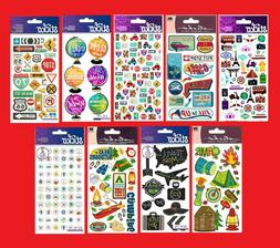 Sticko Stickers GREAT OUTDOORS - CAMPING - TRAVEL - VACATION