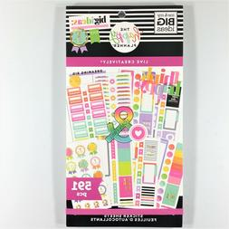 The Happy Planner Live Creatively Sticker Book Pack Of 591 M