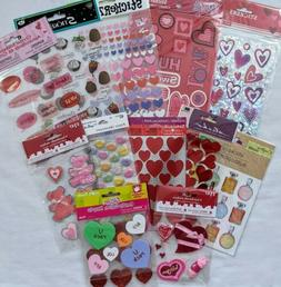 Valentine's Day Stickers for Kids  Crafts Scrapbooking Cards