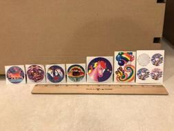 Vintage 1980's LISA FRANK UNICORN/ASSORTED Stickers LOT OF